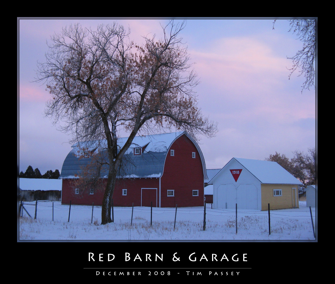 Bloomington Red Barn & Garage