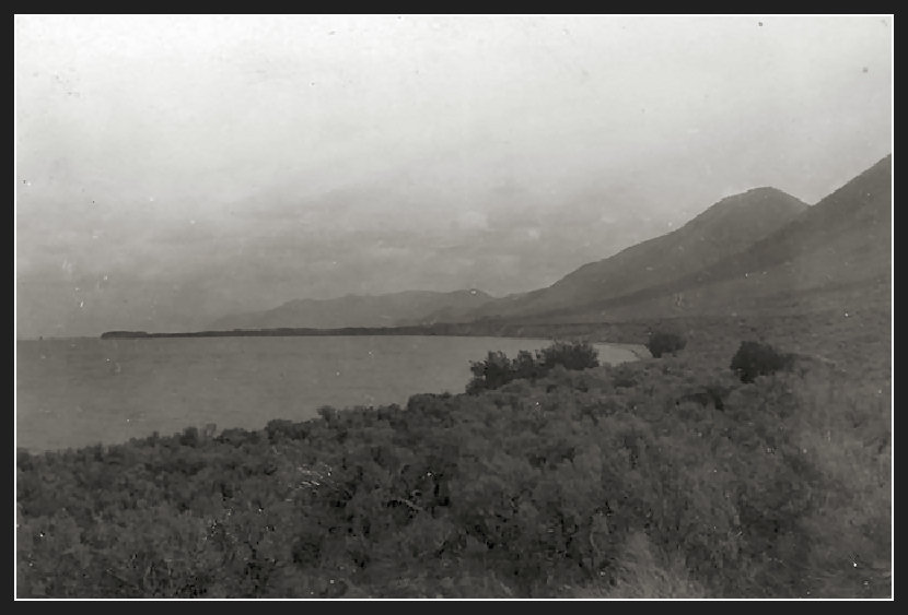 East Side of Bear Lake Idaho - 1912