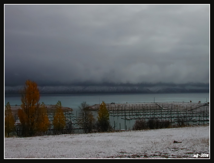 First Snow of Fall 2004 - Garden City, Bear Lake