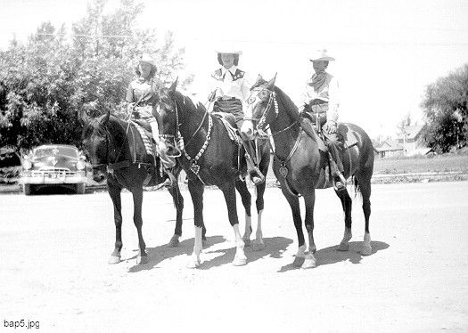 Rodeo Queens Summer 1955
