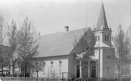 Bloomington LDS Chapel - circa 1905