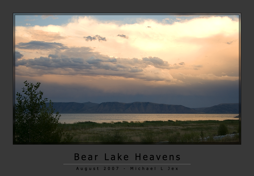 Bear Lake Heavens