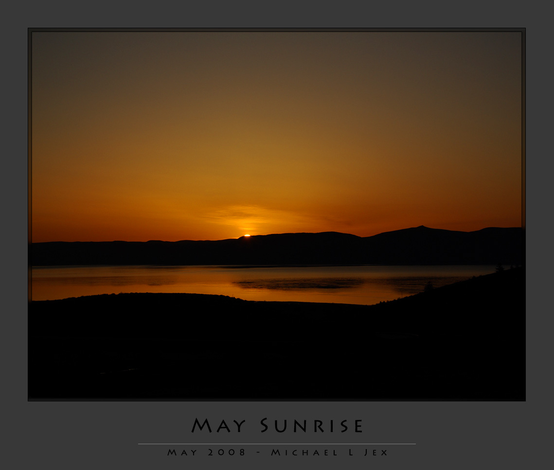 Bear Lake, Idaho - May Day Sunrise
