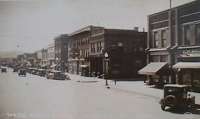 Montpelier, Idaho in 1929